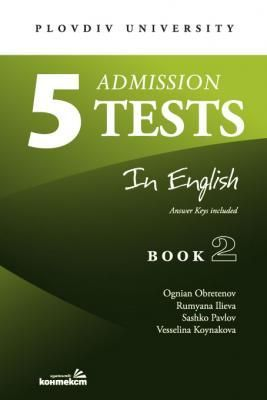 5 admission tests in English - book 2